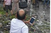 Delhi's Ghazipur landfill collapse: AAP government says L-G to blame
