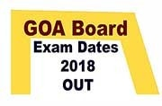 Goa Board Exam 2018: Class 10, Class 12 exam dates out