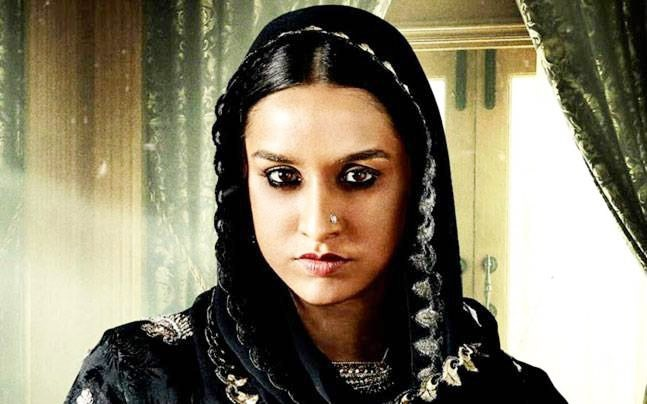 Shraddha Kapoor in a still from Haseena Parkar