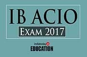 Join Intelligence Bureau: IB ACIO Exam 2017