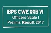 IBPS CWE RRB VI Officers Scale I Prelims Result 2017: How to check
