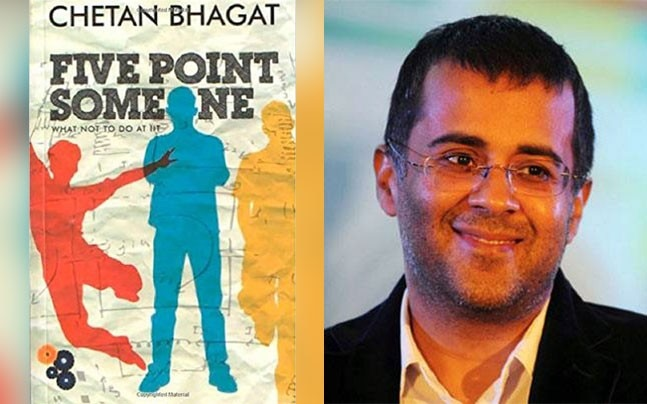 Chetan Bhagat's novels, FB post writing hits a roadblock in DU for now
