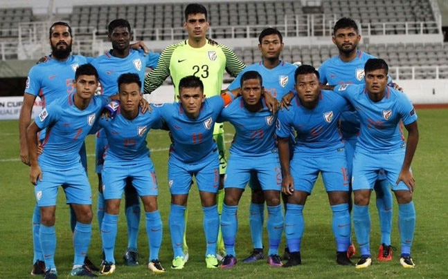 Indian Football Team Twitter Photo