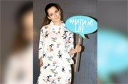 Kangana Ranaut wore a night suit to an event, and we