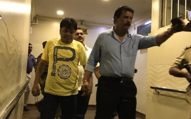 Kaskar was taken into custody last night