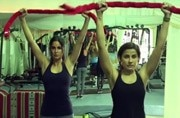 #MondayMotivation: Katrina Kaif doing pilates with a towel proves you don