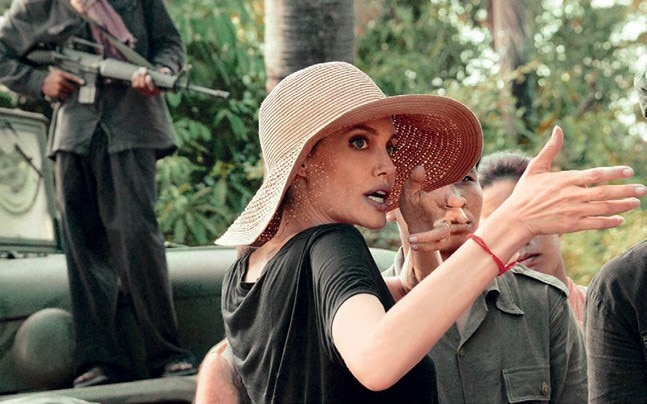 Angelina Jolie's latest film will go to the Oscars as Cambodia's official nomination.