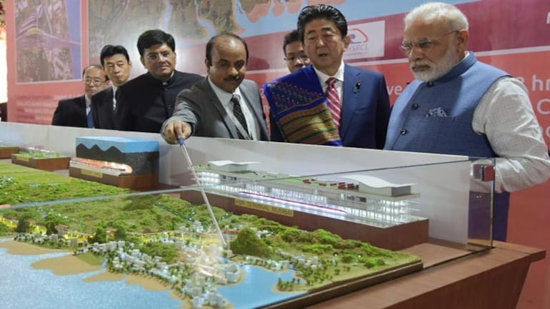 Bullet train project inauguration
