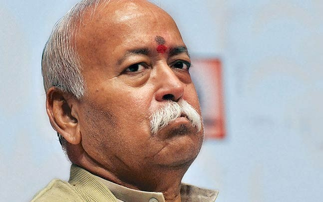 RSS chief Mohan Bhagwat said that those who revere cows do not resort to violence.