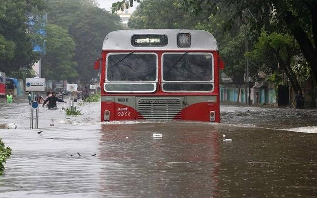 Rains lash Mumbai again