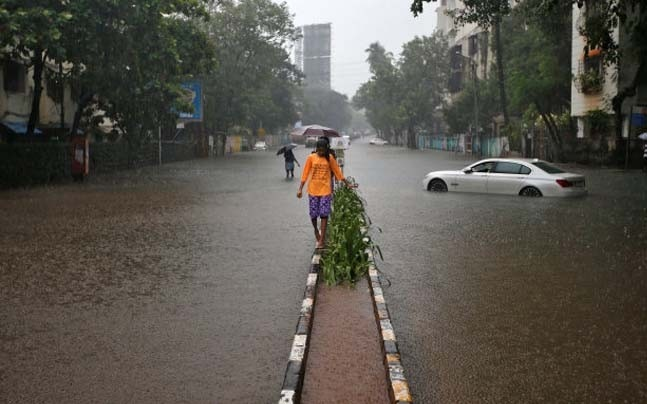 Heavy rainfall in Mumbai are a cause of concern. | Photo: Reuters