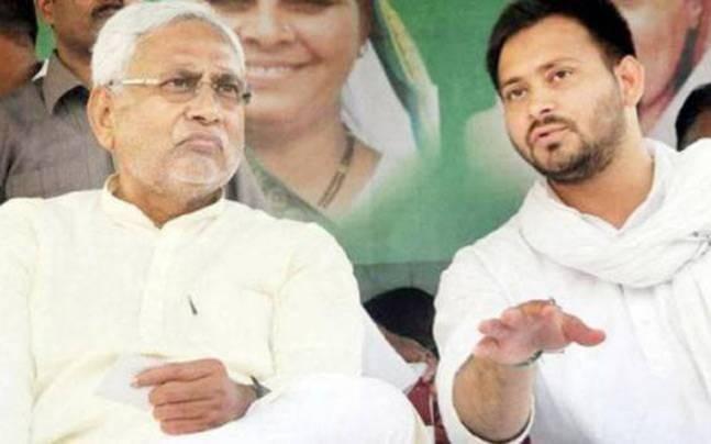 Nitish Kumar and Tejashwi Yadav.