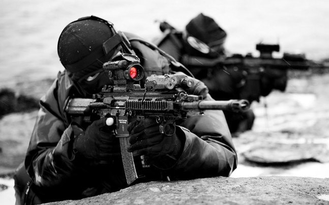 NSG commandos: Picture for representation