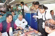 Unhappy with railway food? IRCTC bringing tablets to record feedback of Rajdhani, Shatabdi Express passengers