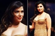 Richa Chadha is spilling hotness in a golden gown at the Venice Film Festival