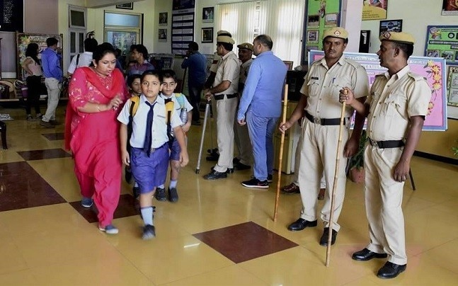 Guidelines will be issued to schools to increase children's security.
