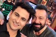 The Drama Company's Sanket Bhosale gets emotional after meeting his idol Sanjay Dutt