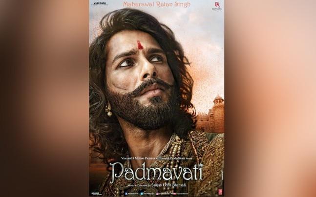 Shahid Kapoor's look in Padmavati