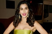 You might feel a bit nauseous after seeing Sophie Choudry in this floral dress