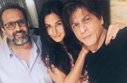 PHOTO: Katrina Kaif begins shooting for Aanand L Rai's film with Shah Rukh Khan, and we can't keep calm