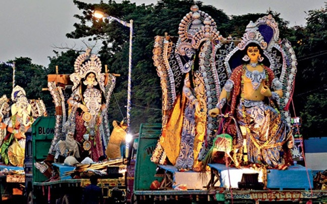 Bengal Durga Pooja organizers reeling due to economic slump