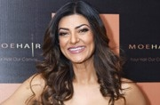 Sushmita Sen in this strapless black gown is the stuff of dreams