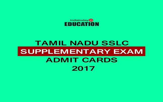 Tamil Nadu SSLC Supplementary Exam 2017: Admit cards released at dge