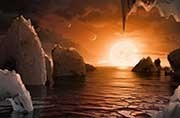 Water found on TRAPPIST-1 planets?