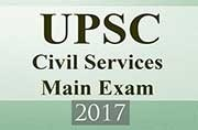 UPSC Civil Services Main Exam 2017: Here