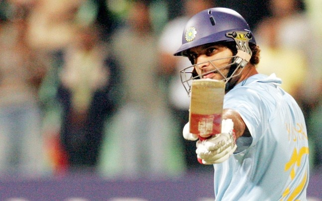 Yuvraj Singh 6 Sixes in One Over
