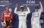 Lewis Hamilton claims US Grand Prix pole, Sebastian Vettel No. 2