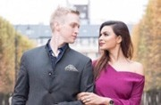 Aashka Goradia and Brent Goble's simple yet classy wedding card is out