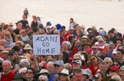 Protest agaist Adani Enterprises in Australia