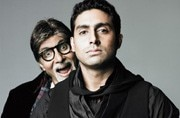 Abhishek Bachchan gives a sneak-peek into dad