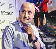 We tend to celebrate mediocrity in Indian films, says Anupam Kher