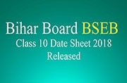 Bihar Board BSEB Class 10 Exams 2018: Date sheet released at biharboard.ac.in, check exam dates here
