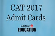 CAT Admit Cards 2017 to be released tomorrow at iimcat.ac.in: How to download
