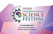 India International Science Festival 2017 to kick off at Chennai on October 13