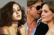 Ella Purnell, and Brad Pitt and Angelina Jolie in happier times