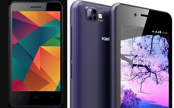 55e97b4dc Micromax Bharat 2 Ultra Vs Karbonn A40 Indian  4G smartphones effectively  costing next to nothing