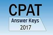 CPAT Answer Keys 2017: Released at cpatup2017.in