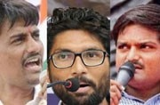 Congress set for Gujarat battle with Alpesh, Mevani and Hardik as charioteers