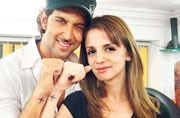 Hrithik Roshan and ex-wife Sussanne Khan celebrate Diwali together in Goa