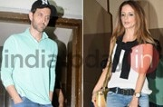 SEE PICS: Hrithik Roshan-Sussanne Khan spotted on a movie date with kids