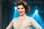 Jacqueline Fernandez leaves little to imagination in this shiny, silver dress