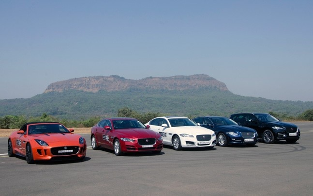 The entire range of Jaguar vehicles, the XE, XF, XJ, F-PACE and F-TYPE, will be available for the guests to experience.