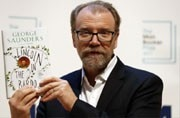 American author George Saunders wins Man Booker Prize