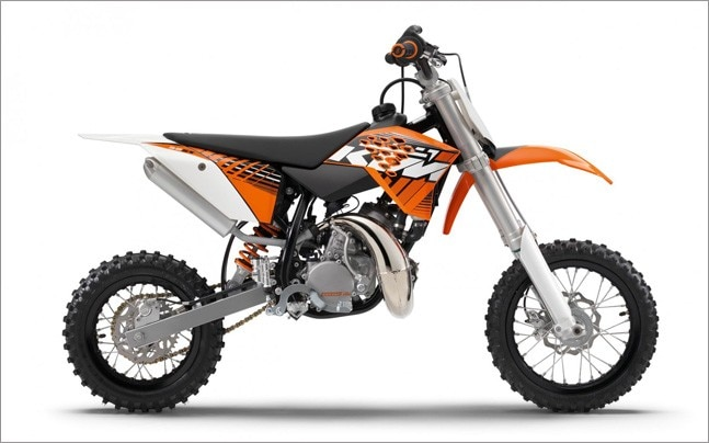 The KTM E-Mini, as the name suggests, will replace the internal combustion engined KTM 50SX.