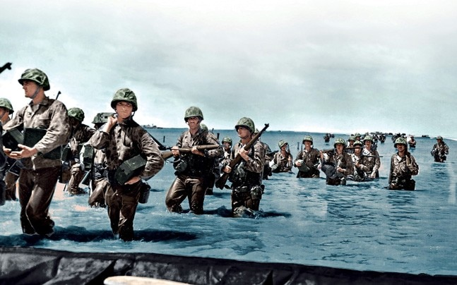 world war ii in colour has a british viewpoint and that s it