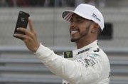 'Space geek' Lewis Hamilton operating on another plane